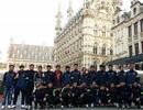 Bên lề chiến thắng 28-0 của U19 Việt Nam tại Bỉ