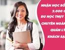 Nhận học bổng hấp dẫn ngành quản lý khách sạn tại Thụy Sĩ