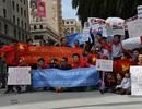 DHS Việt khắp nơi xuống đường phản đối Trung Quốc
