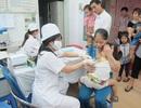 Trên 5.000 trẻ được tiêm Quinvaxem tại điểm tiêm dịch vụ