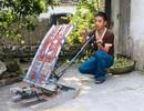 Chàng trai trẻ chế tạo ra máy cấy... không động cơ