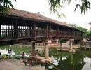 Độc đáo cây cầu ngói hơn 100 năm tuổi ở Ninh Bình