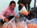 Phát hiện 340kg mực sấy khô được làm từ sắn