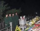 Đêm giao thừa tĩnh lặng bên mộ Đại tướng