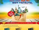 """""""Hành trình rực rỡ"""" cho chủ thẻ Đồng thương hiệu BIDV - Vietravel"""