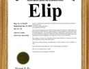 Elip – Thương hiệu được bảo hộ quốc tế