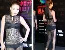 Sốc với trang phục xuyên thấu của người mẫu Trung Quốc