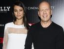 Bruce Willis và vợ trẻ tay trong tay hạnh phúc