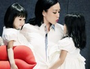 Người đẹp gốc Việt khoe hai con gái cưng