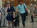 Mỹ nhân 62 tuổi Lưu Hiểu Khánh diện váy ngắn