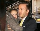 Đại gia đình Beckham vui vẻ đi ăn trưa