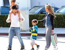 "Jennifer Lopez thư thái đưa các con đi chơi cùng ""bồ trẻ"""