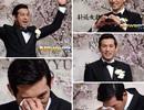 """""""Mỹ nam"""" Oh Ji Ho bật khóc trong ngày cưới"""