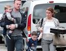 Wayne Rooney hạnh phúc bên vợ con