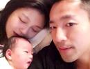 Vợ chồng Từ Hy Viên hạnh phúc bên con gái mới sinh