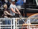 """""""Thần sấm"""" Chris Hemsworth hạnh phúc bên vợ con"""