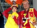 Hoa khôi Taekwondo Tuyết Vân phấn khởi khoe HCV SEA Games