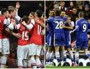 """Arsenal thắng nhàn Hull, Chelsea hạ Sunderland với """"mưa gôn"""""""