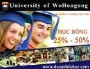 Nhiều cơ hội học bổng và việc làm toàn cầu tại Đại học Wollongong, Úc