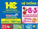 Điện máy HC ngập tràn ưu đãi nhân dịp 8/3
