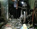 Hình ảnh hiện trường vụ cháy khiến 5 người trong gia đình tử vong