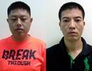Bắt 2 đối tượng người Trung Quốc rút tiền bằng thẻ tín dụng giả