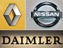 Daimler bắt tay với Renault – Nissan