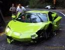 Thanh niên 17 tuổi làm Aventador lật ngửa