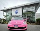 Volkswagen Beetle màu hồng, phiên bản… tuyên truyền chống ung thư vú