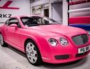 Bentley GT màu hồng - Tình yêu nhà giàu...