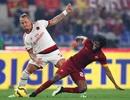 AS Roma bị AC Milan cản bước trong cuộc đua vô địch