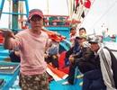 Dong thuyền ra khơi đón Tết trên vùng biển chủ quyền