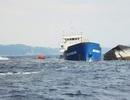 """Tàu chở 1.900 tấn than mắc cạn vẫn chưa được """"giải cứu"""""""