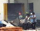 Cháy lớn ở công ty chế biến thủy sản