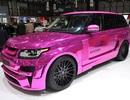 Ấn tượng Range Rover mạ crôm hồng