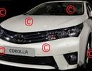 Thông tin ban đầu về xe Corolla thế hệ mới