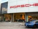 Đại lý Porsche dùng hổ thật để giới thiệu xe