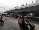 Sắp thông xe cầu vượt dầm thép lớn nhất Hà Nội