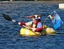 Độc đáo lễ hội đua thuyền bí ngô ở Đức