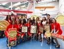 AirAsia được bình chọn là hãng hàng không cước phí thấp hàng đầu thế giới trong 7 năm liên tiếp