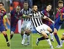 Pique, Xavi, Iniesta và Messi bốn lần vô địch Champions League