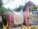 Chuyện về bức tượng ngựa Xích Thố hiếm có ở miền Tây