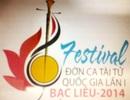 Rậm rịch chuẩn bị cho Festival Đờn ca tài tử quốc gia lần I