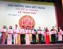Trao 10 huy chương vàng cho các thí sinh đoạt giải triển vọng và xuất sắc