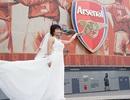Đám cưới đặc biệt của nữ cổ động viên Arsenal ở Hà Nội