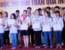 Vinh danh học sinh giành giải cuộc thi toán qua Internet