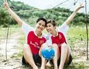 """Bộ ảnh cưới hài hước của cặp đôi """"mê"""" Arsenal"""