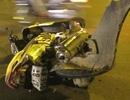 Xe Camry gây tai nạn liên hoàn tại điểm dừng đèn đỏ