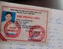 Hà Nội: Xưng nhà báo để xin xe vi phạm
