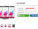 LG G3 phiên bản Hàn Quốc về Việt Nam giá cao ngất ngưỡng